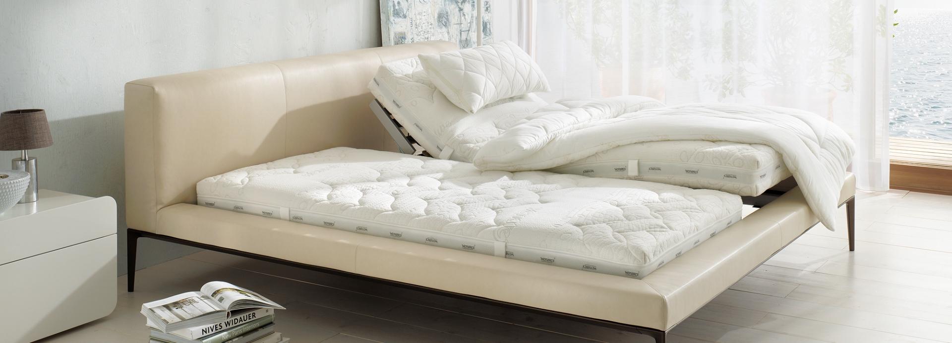 Bett mit dem Wenatex Schlafsystem