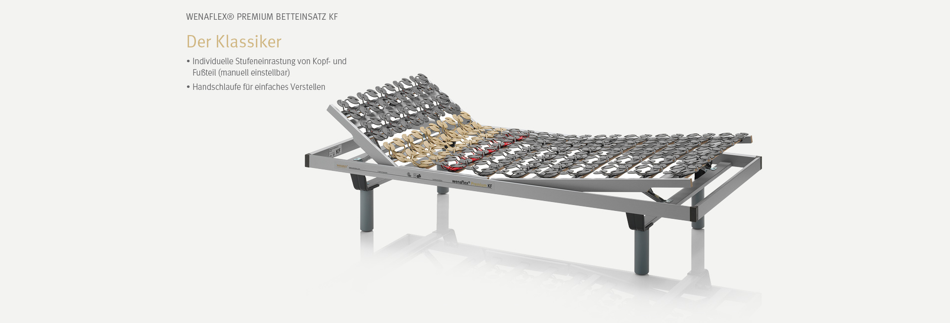 Der wenaFlex® Premium Betteinsatz KF | Der Klassiker
