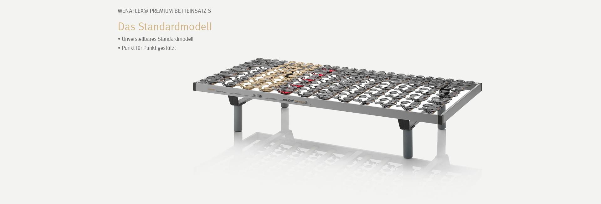Der wenaFlex® Premium Betteinsatz S | Das Standardmodell