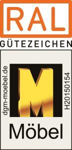 RAL Gütezeichen für Möbel der Deutsche Gütegemeinschaft Möbel e.V. bescheinigt Gesamtqualität der Wenatex-Produkte