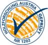Prüfzeichen der Holzforschung Austria steht für die geprüfte Qualität der Wenatex-Produkte