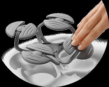 wenatex wenaflex contactpad grey