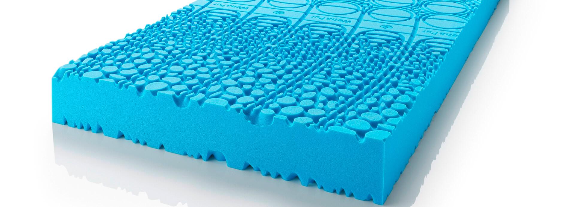 Der wenaPur® Kaltschaum Matratzenkern von Wenatex