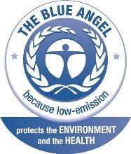 Il marco ecologico Angelo Blu rilasciato dall'agenzia RAL gGmbH