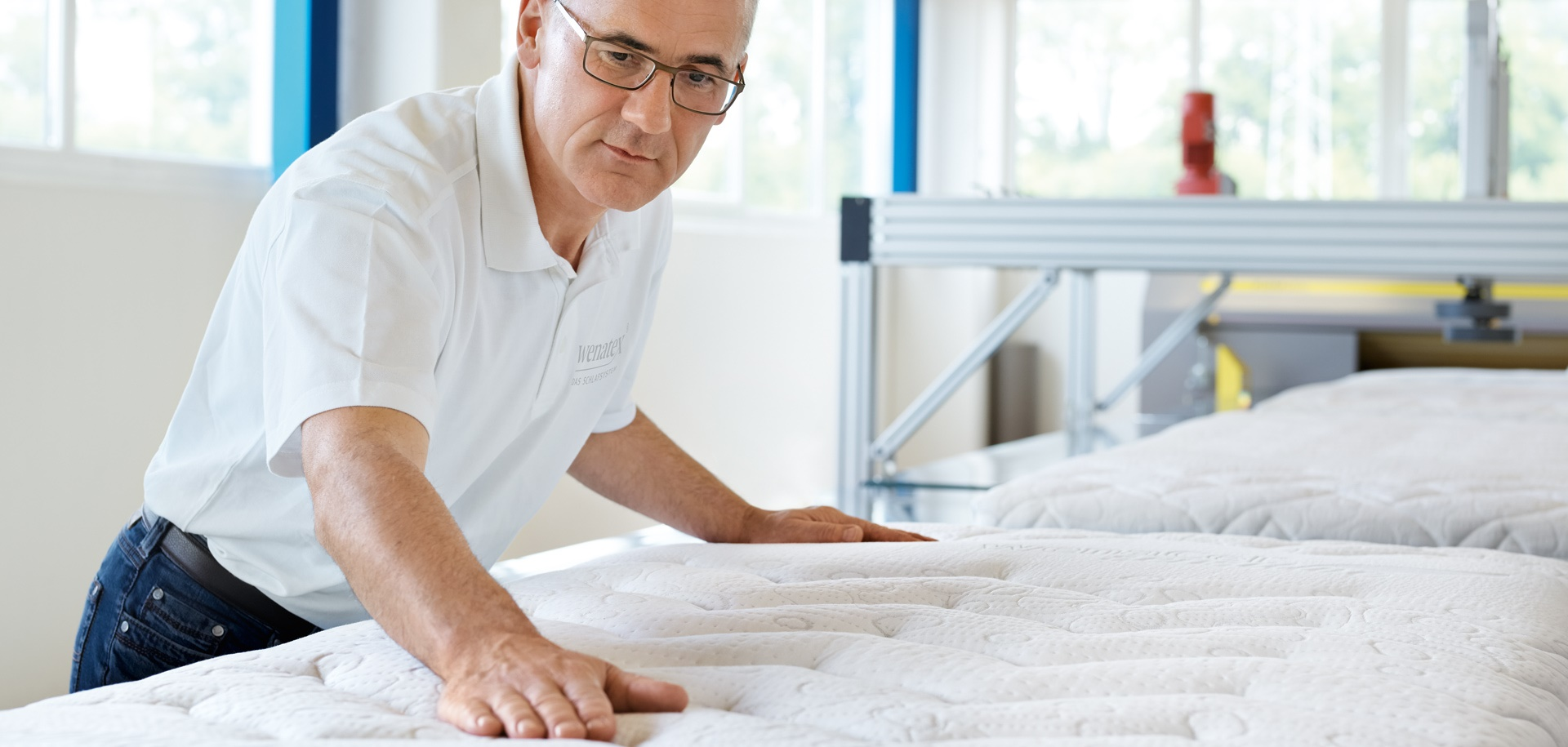 Qualitätssicherung in der Wenatex Produktion