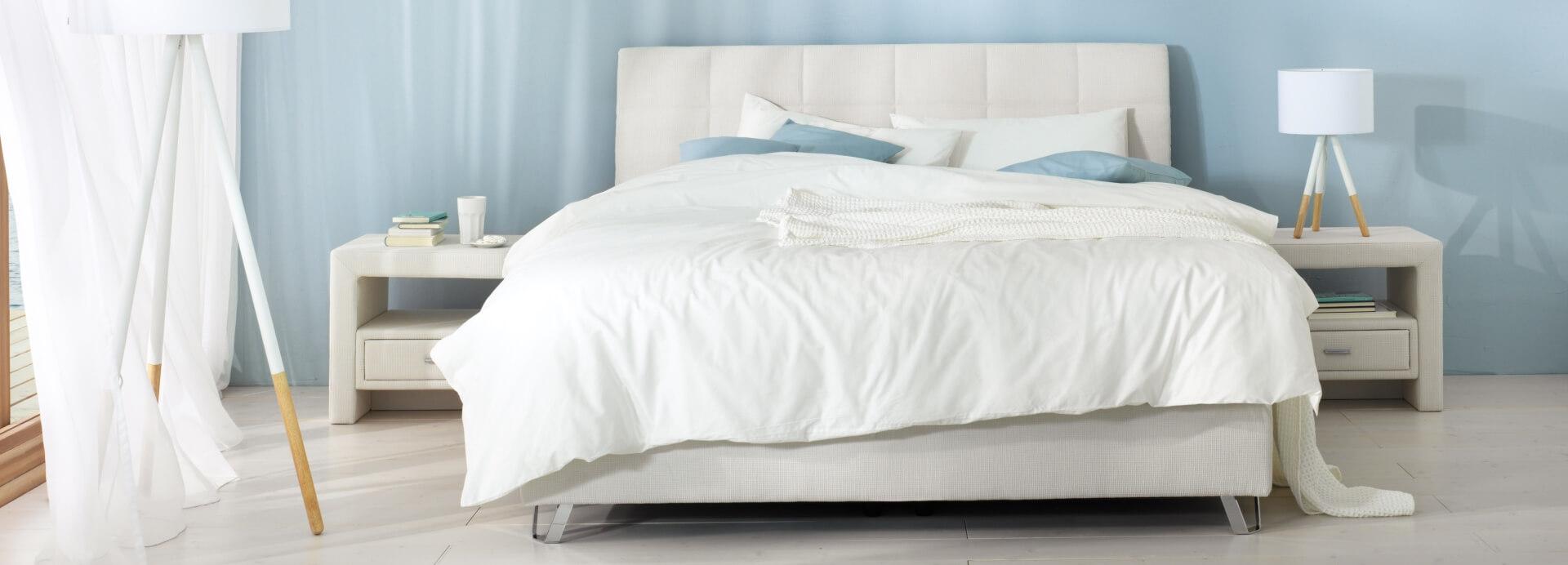 Das orthopädische Schlafsystem von Wenatex | Schlafzimmer mit Wenatex-Bett