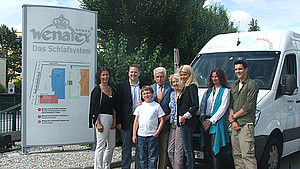 Wenatex dona 10.000 euro per l'assoziazione Pro Mente di Salisburgo