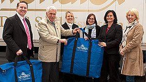 Wenatex dona 700 trapunte a la città dei bambini
