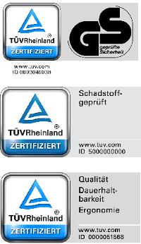 wenatex TÜV Rheinlad zertifiziert