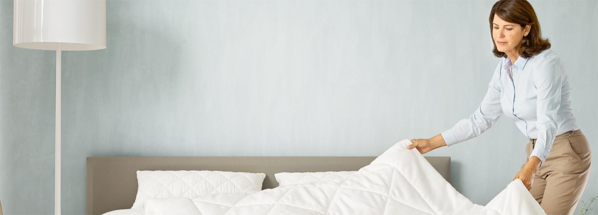 hygiene and sleeping comfort - Basi A Doghe Wenatex