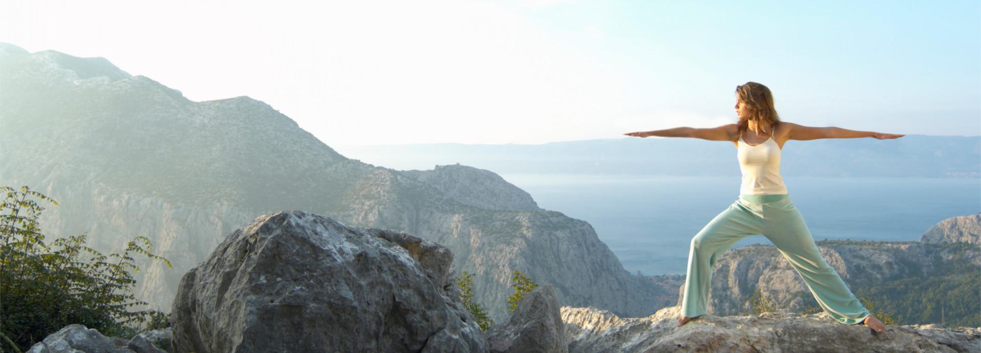 Yoga Landschaft